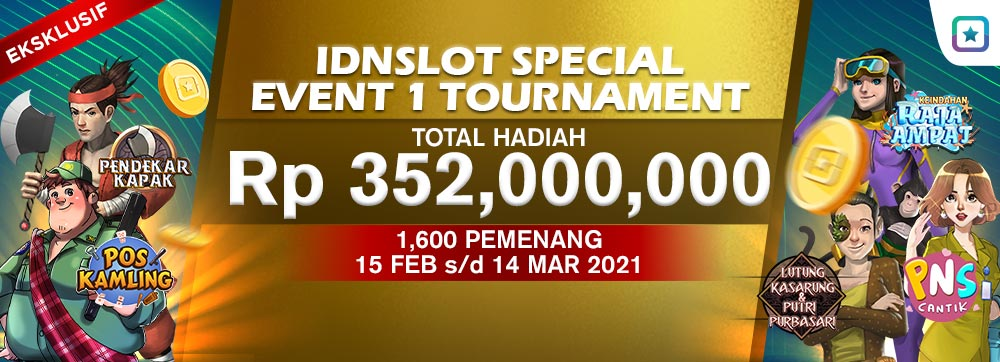 Idnslots Special Event 1 Tournament